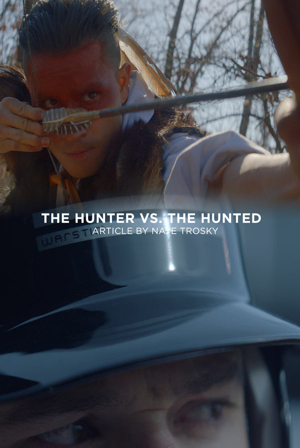 The mindset of the Hitter; The Hunter VS. The Hunted.
