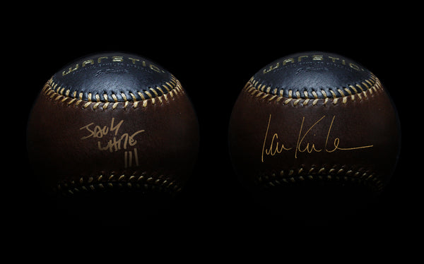 Jack White & Ian Kinsler Autographed Warstic Baseball Auction