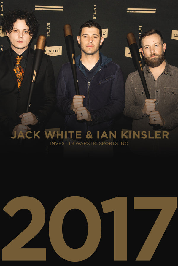 Jack White and Ian Kinsler Invest in Warstic.