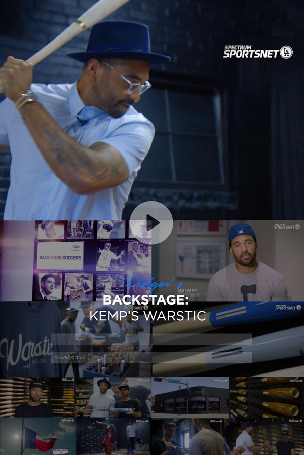 SPORTSNET LA BACKSTAGE DODGERS : Matt Kemp's Warstic