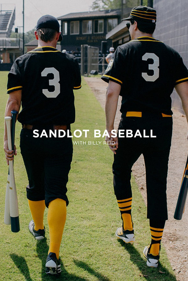 Sandlot Baseball with Jack White &  Billy Reid.