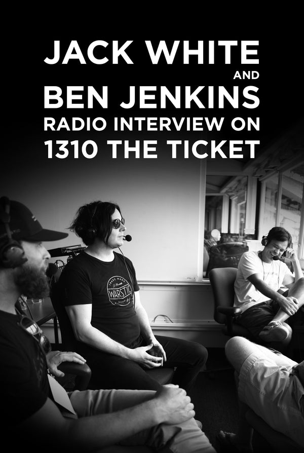Jack White & Warstic Founder Live on 1310 THE TICKET.