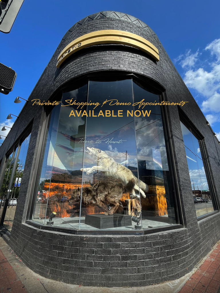 View of the Warstic Flagship Store corner window at Malcom X and Main in Deep Ellum