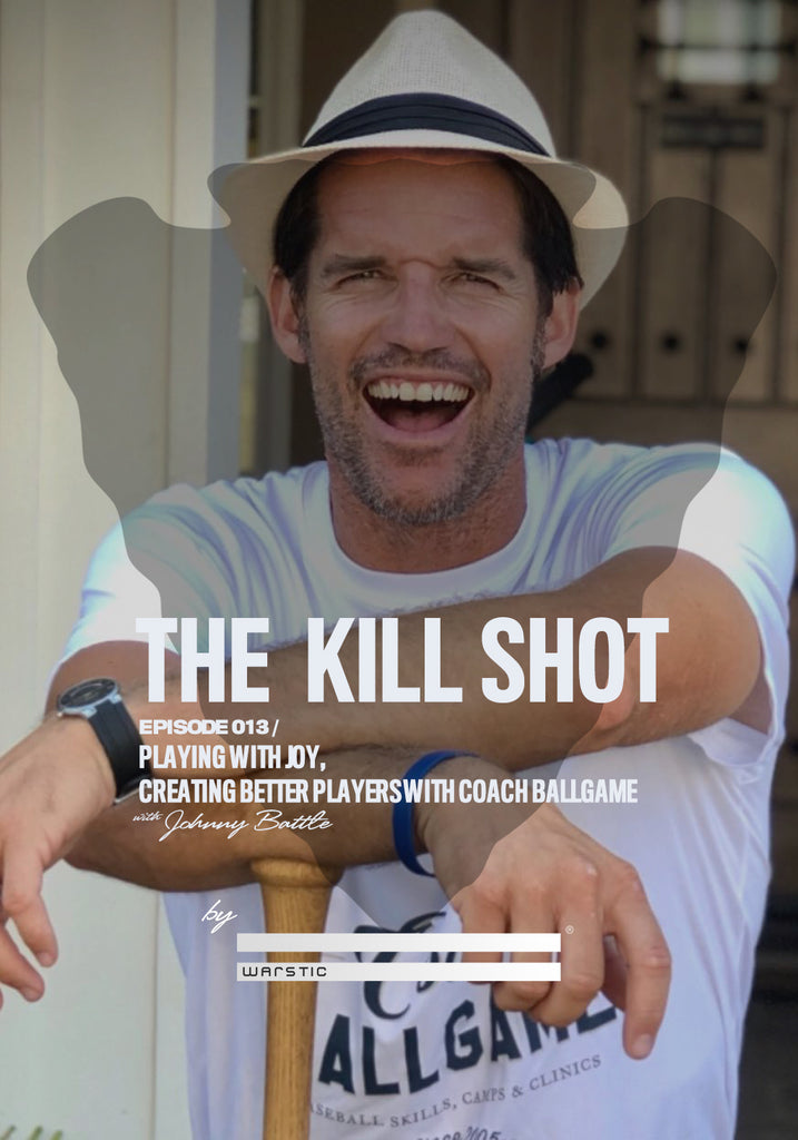 Coach Ballgame, aka James Lowe, on episode 13 of the Kill Shot Podcast