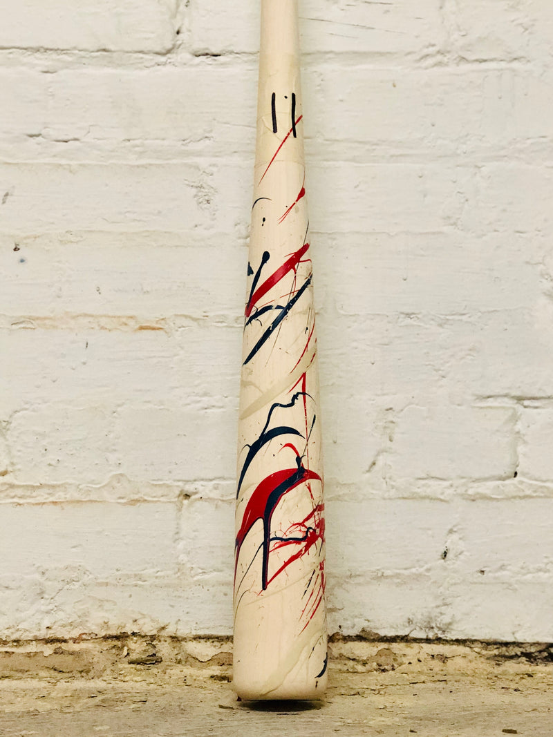 Art of Hitting - Navy/White/Red by Ben Jenkins Bat No 011, [prouduct_type], [Warstic]