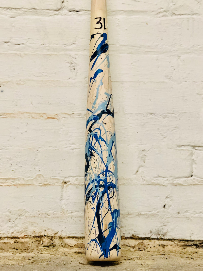 Art of Hitting - Lt Blue/Royal/Navy by Ben Jenkins Bat