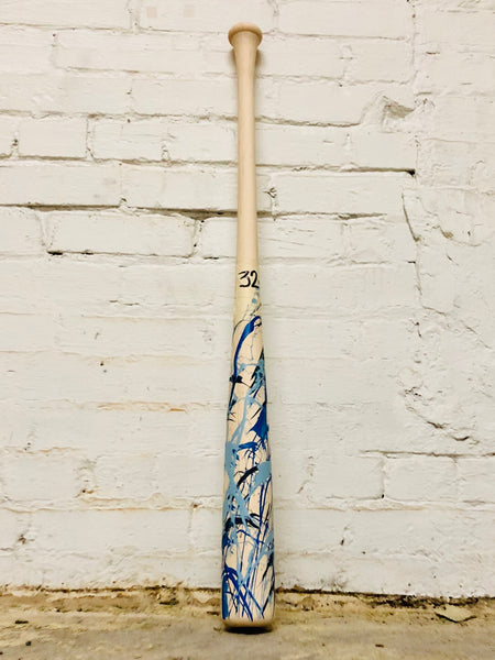 Art of Hitting - Lt Blue/Royal/Navy by Ben Jenkins Bat No 032, [prouduct_type], [Warstic]