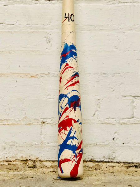 Art of Hitting - Red/White/Blue by Ben Jenkins Bat No 040, [prouduct_type], [Warstic]