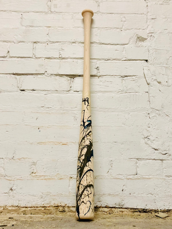 Art of Hitting - Gray/White/Navy by Ben Jenkins Bat No 049, [prouduct_type], [Warstic]