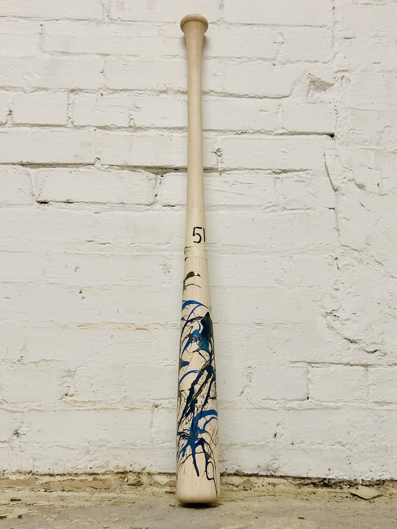 Art of Hitting - Gray/White/Navy by Ben Jenkins Bat
