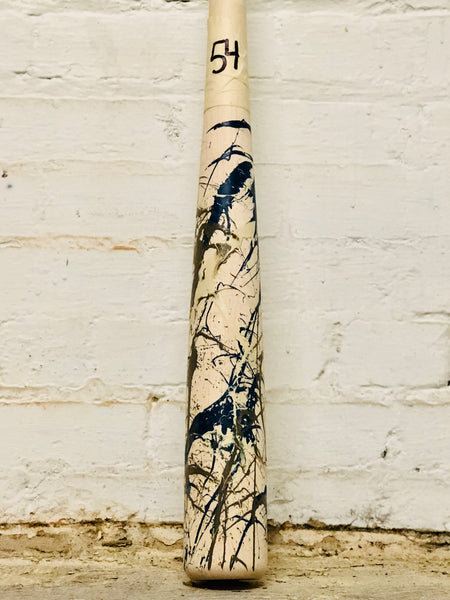Art of Hitting - Gray/White/Navy by Ben Jenkins Bat No 054, [prouduct_type], [Warstic]