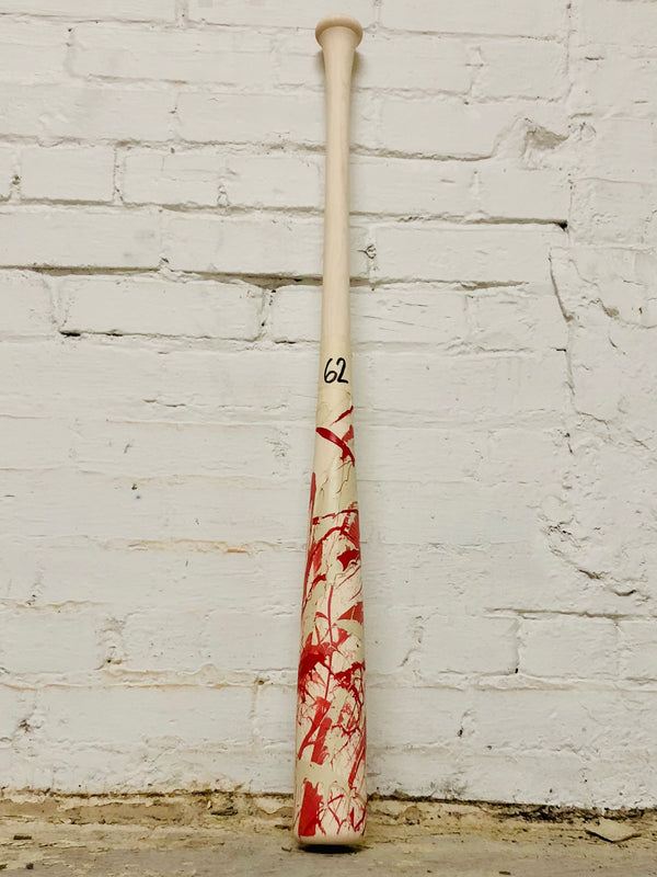 Art of Hitting - Pink/White/Red by Ben Jenkins Bat No 062, [prouduct_type], [Warstic]
