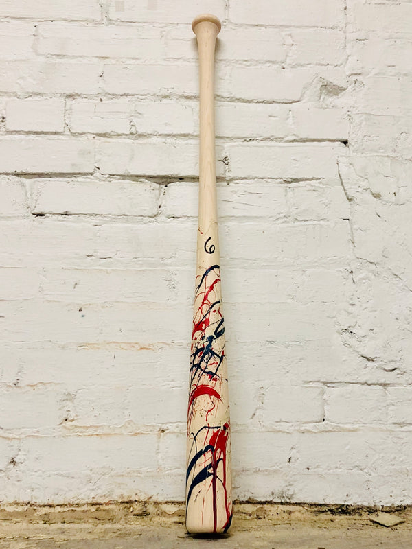 Art of Hitting - Navy/White/Red by Ben Jenkins Bat No 006, [prouduct_type], [Warstic]