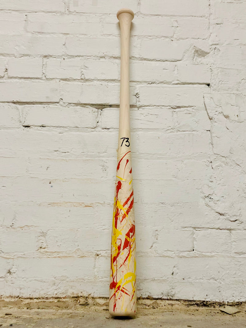 Art of Hitting - Yellow/Orange/White by Ben Jenkins Bat