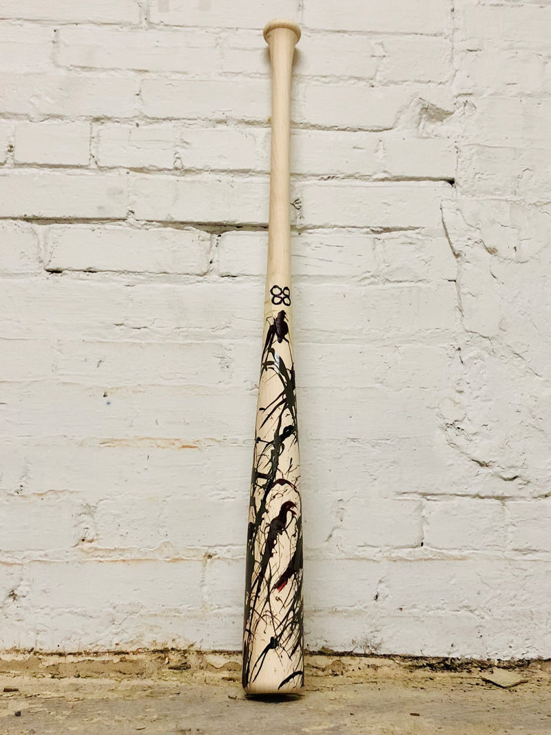 Art of Hitting - Maroon/Gray/Black by Ben Jenkins Bat