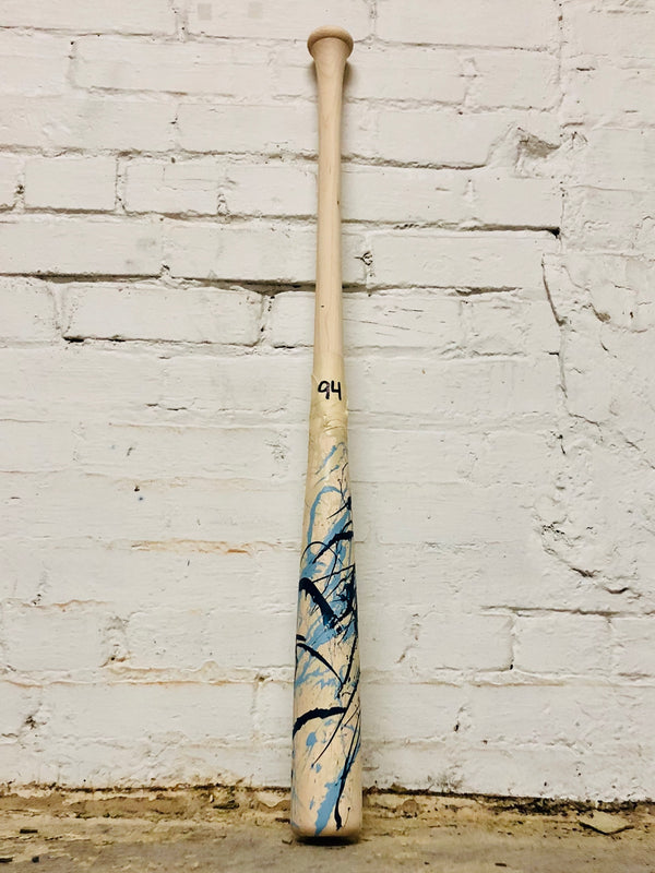 Art of Hitting - Lt Blue/Navy/White by Ben Jenkins Bat No 094, [prouduct_type], [Warstic]