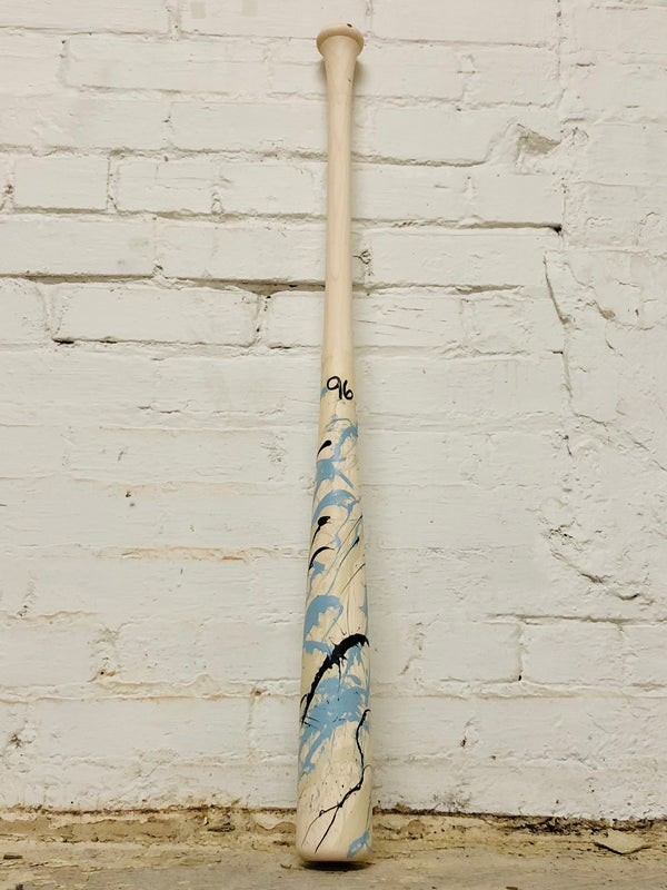 Art of Hitting - Lt Blue/Black/White by Ben Jenkins Bat No 096, [prouduct_type], [Warstic]