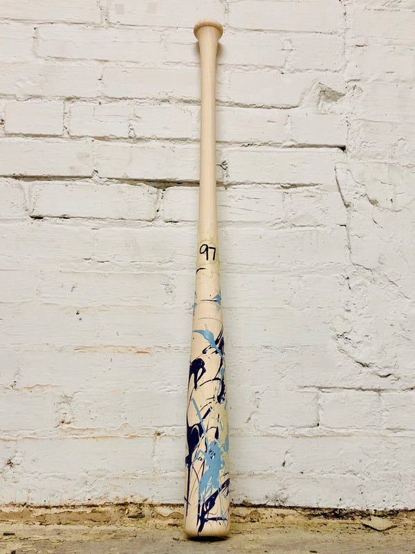 Art of Hitting - Lt Blue/Purple/White by Ben Jenkins Bat No 097, [prouduct_type], [Warstic]