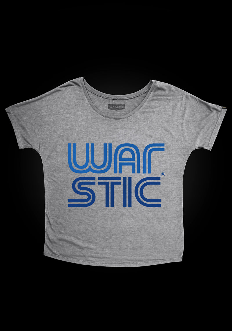 WEST COAST WOMEN'S TEE (GRAY/ROYAL), [prouduct_type], [Warstic]