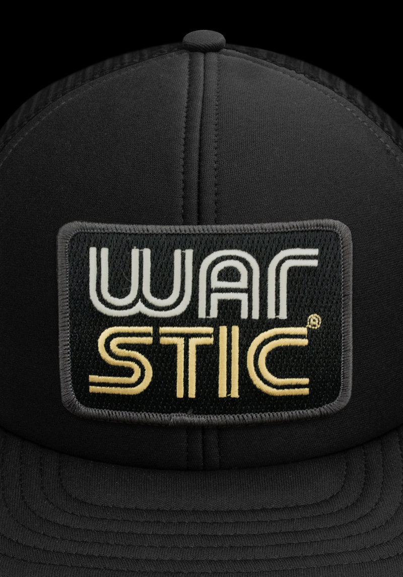 WEST COAST FOAM TRUCKER HAT (BLACK), [prouduct_type], [Warstic]