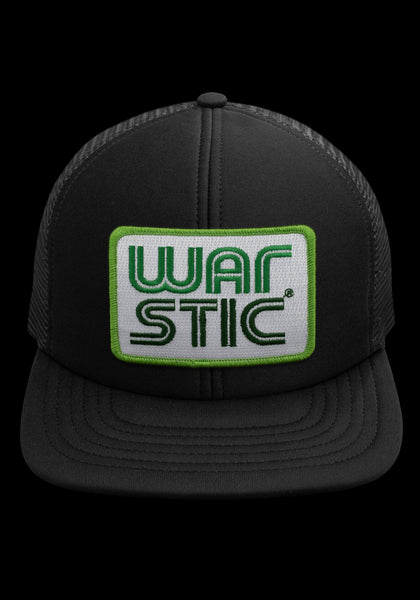 West Coast Foam Trucker Hat (Black/Grass), [prouduct_type], [Warstic]