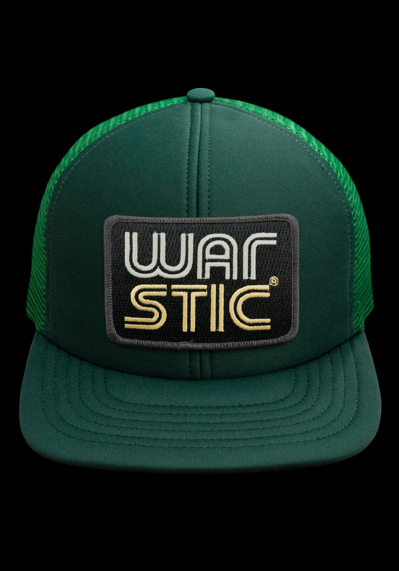 WEST COAST FOAM TRUCKER HAT (GREEN/BLACK), [prouduct_type], [Warstic]