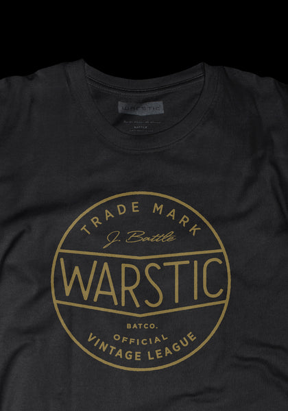 Official Vintage League Tee (Black), [prouduct_type], [Warstic]