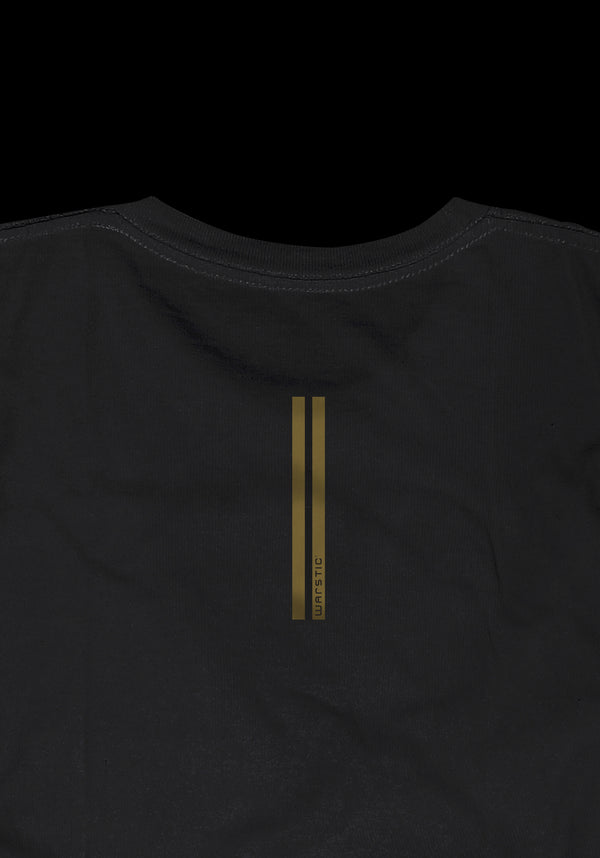 THUNDERHEART OF THE PLATE TEE (BLACK/GOLD), [prouduct_type], [Warstic]