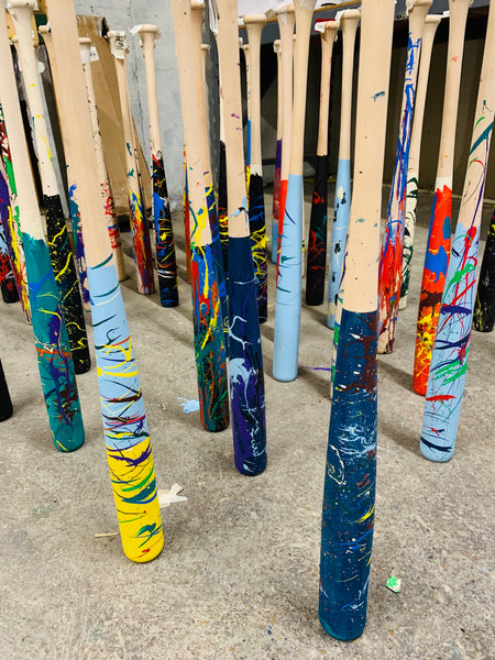 "Paint Your Own ""Art of Hitting"" Wood Bat, [prouduct_type], [Warstic]"