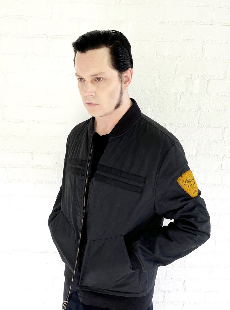 Jack White wearing the Icon Player's Jacket