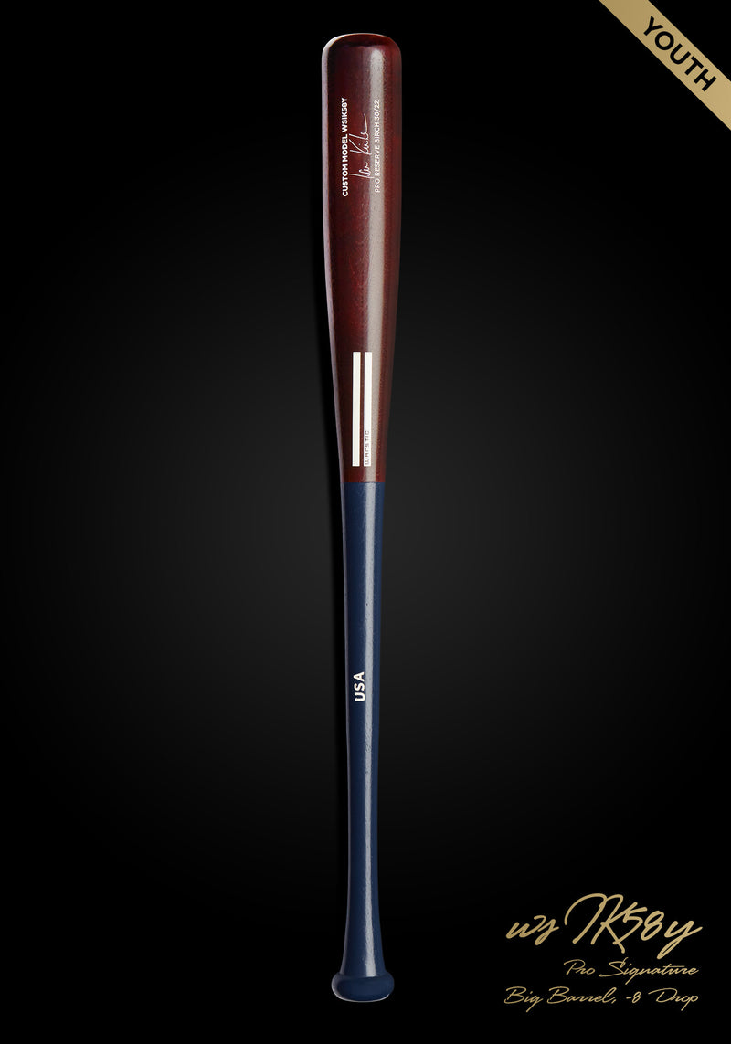 Ian Kinsler WSIK58Y Birch USA Custom Pro Signature Wood Bat, [prouduct_type], [Warstic]