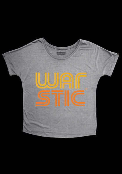 West Coast Women's Tee (Gray/Fire), [prouduct_type], [Warstic]