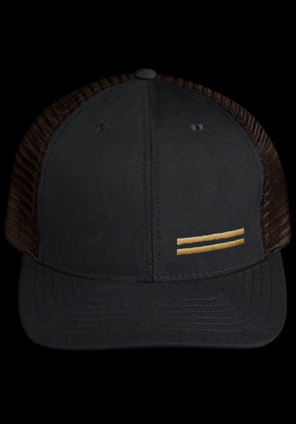 Off-Season Snapback Black/Tobacco (Warstripes - Small)