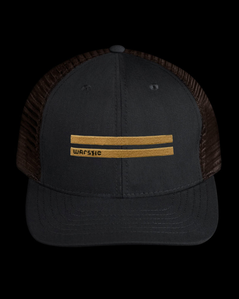OFF-SEASON SNAPBACK BLACK/TOBACCO (WARSTRIPES), [prouduct_type], [Warstic]