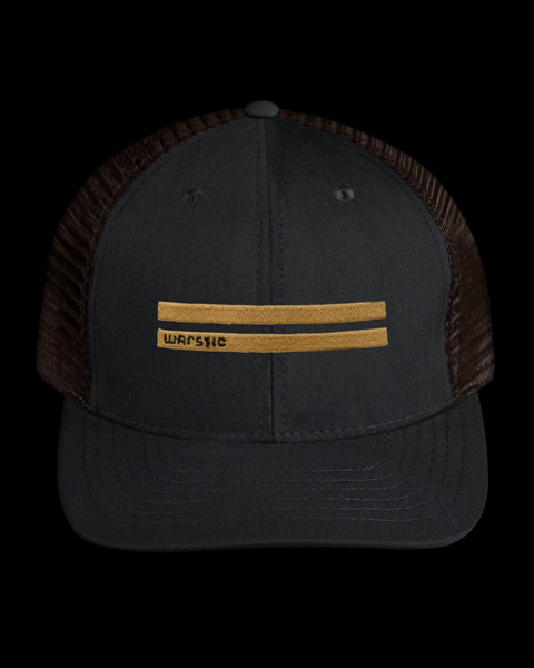 Off-Season Snapback Black/Tobacco (Warstripes)