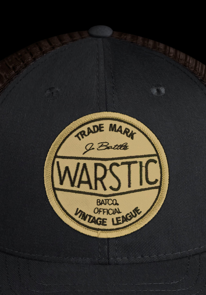 OFF-SEASON SNAPBACK BLACK/TOBACCO (VINTAGE LEAGUE), [prouduct_type], [Warstic]