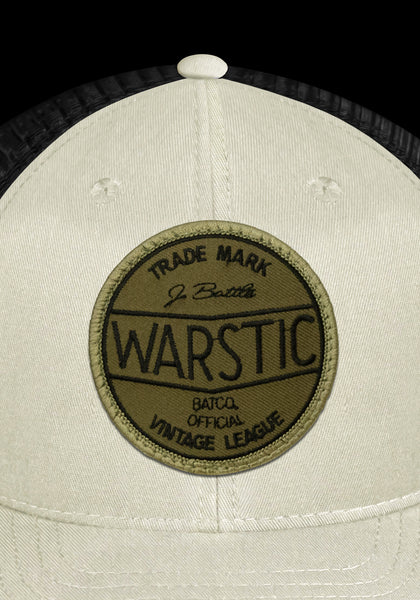 Off-Season Snapback Off White/Black (Vintage League Green), [prouduct_type], [Warstic]