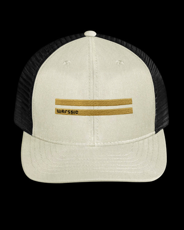 OFF SEASON SNAPBACK OFF WHITE/BLACK (GOLD WARSTRIPE)