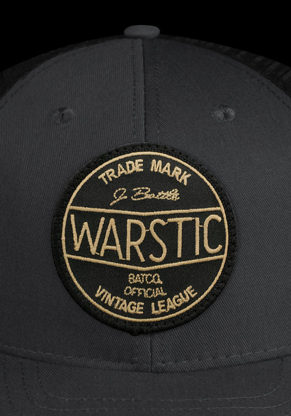 OFF-SEASON SNAPBACK SMOKE/BLACK (VINTAGE LEAGUE), [prouduct_type], [Warstic]