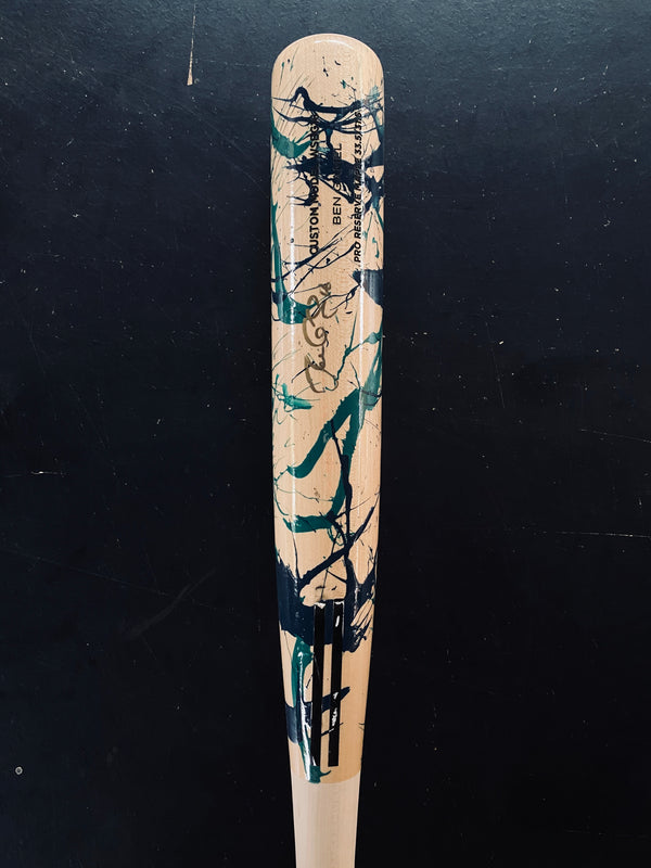 BEN GAMEL 2018 PLAYER'S WEEKEND AUTOGRAPHED BAT, [prouduct_type], [Warstic]