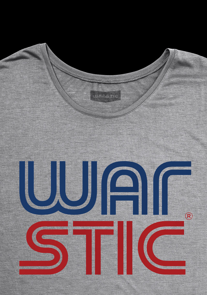 WEST COAST WOMEN'S TEE (GRAY/RED/BLUE), [prouduct_type], [Warstic]