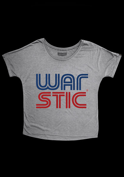 West Coast Women's Tee (Gray/Red/Blue)