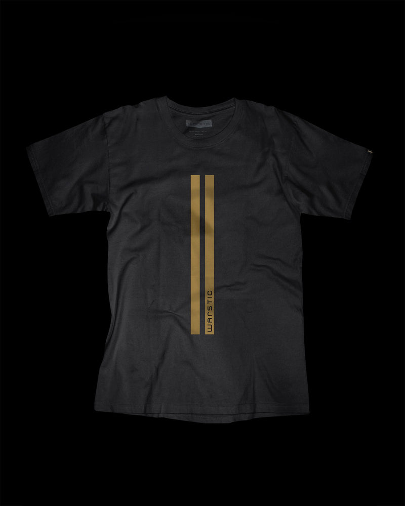 WARSTRIPES TEE (BLACK)