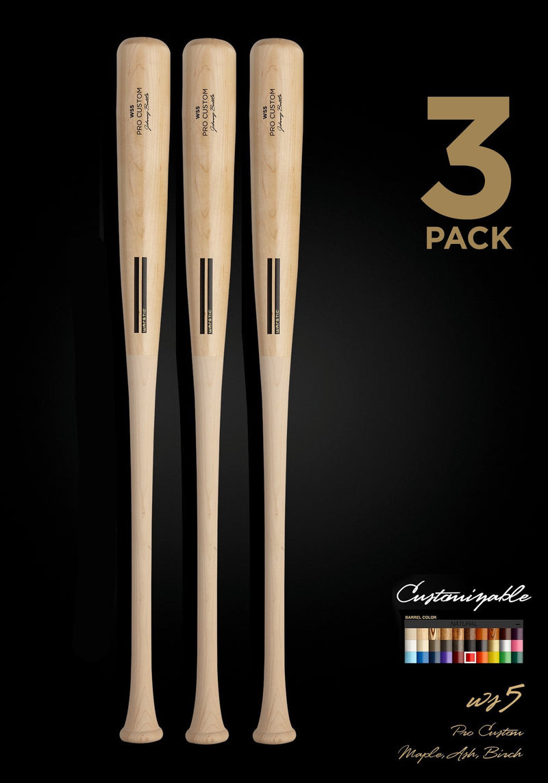 WS5 WOOD BAT 3 Pack