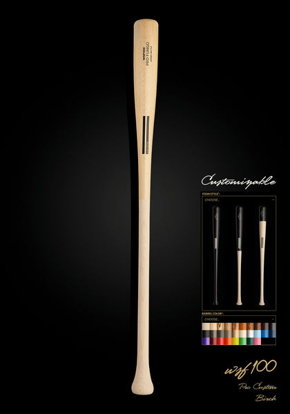 WSF100 Birch Pro Custom Fungo Wood Bat, [prouduct_type], [Warstic]