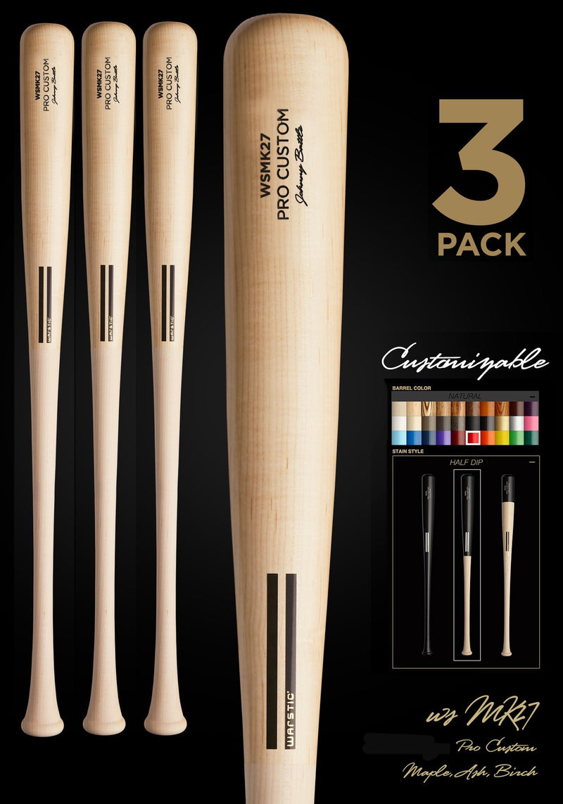 WSMK27 (MATT KEMP MODEL) WOOD BAT 3 PACK