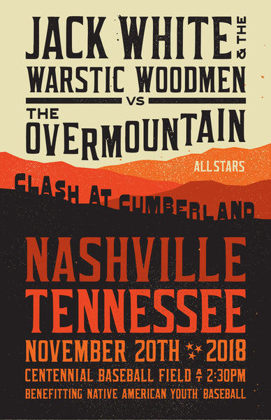 2018 Clash at Cumberland | Nashville Poster, [prouduct_type], [Warstic]