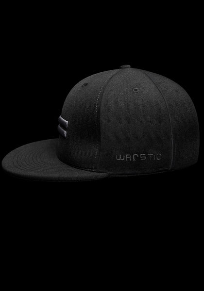 Warstripe Fitted Stretch - Black, [prouduct_type], [Warstic]