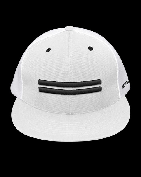 Warstripe Fitted Stretch Cap - White