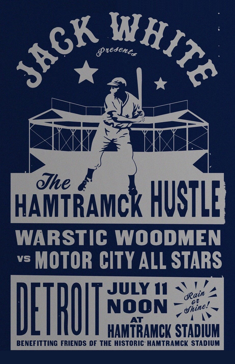 2019 HAMTRAMCK HUSTLE POSTER | DETROIT POSTER, [prouduct_type], [Warstic]